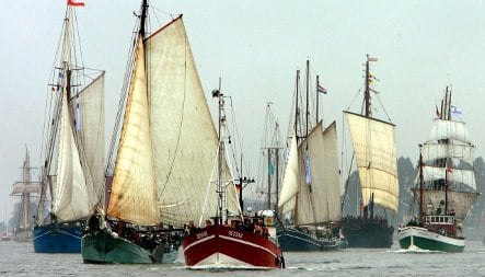 Rostock's Hanse Sail weighs anchor