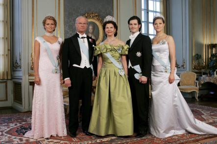 At the Palace before the Nobel banquetPhoto: Picture Alliance/DPA