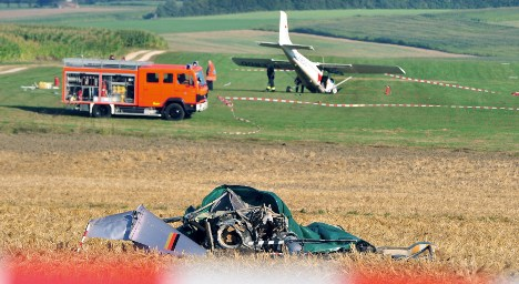 Six dead in two dramatic air accidents