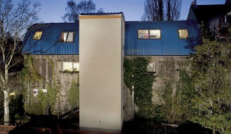 Old bunkers get new life as flats in Bremen