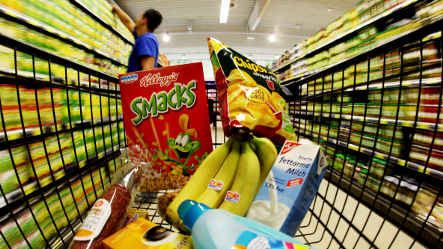 Consumer prices fall for first time in 22 years