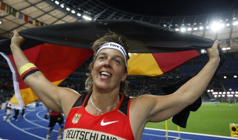 Nerius claims first gold for Germany at IAAF championships