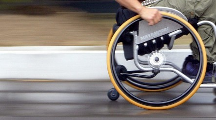 Drunk in wheelchair leads police on high-speed chase
