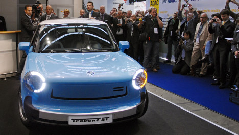 Frankfurt motor show hopes for boost from electric cars