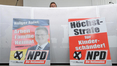 Neo-Nazi NPD faces tax-money windfall for victory in Saxony