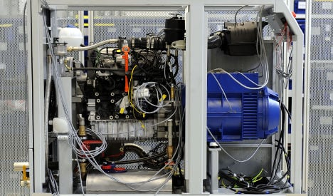 VW engines to fire German household power plants
