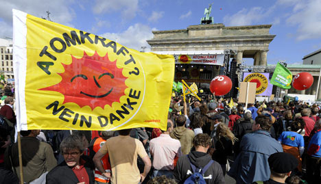 50,000 join anti-nuclear power march in Berlin