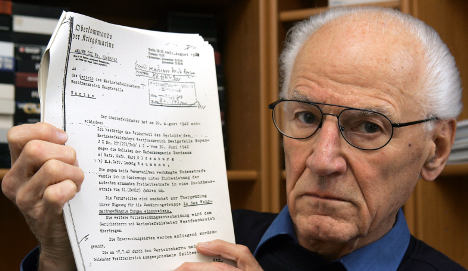 Those convicted of treason to Nazi state set to be cleared