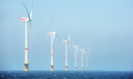 Germany aims to build 40 offshore wind farms