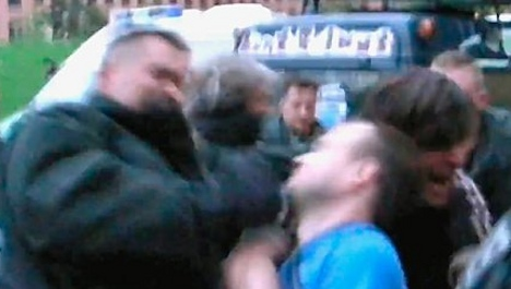Berlin police officers transferred during video beating probe