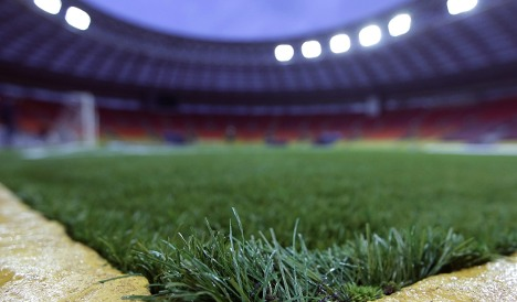 Ballack dismisses worries over Russian artificial pitch
