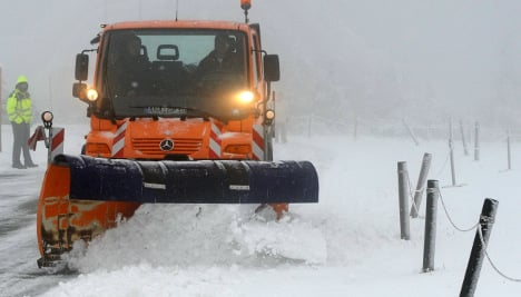 Winter storm warning issued for east Germany