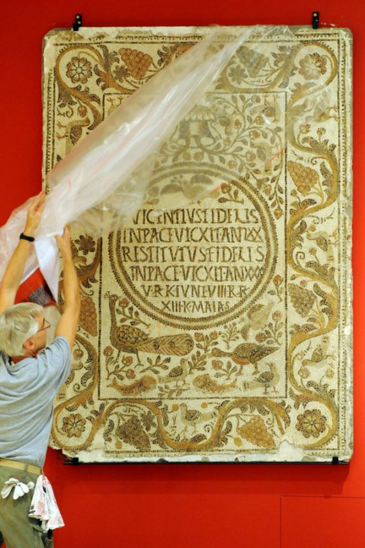 """The word """"vandal"""" these days is associated with acts of senseless violence and destruction. However, this new exhibition explores the history behind the actual Vandals, a Germanic civilisation that stretched across Eastern Europe to North Africa in the 5th century.Photo: DPA"""