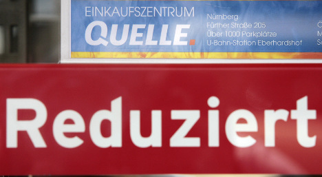 Insolvent Quelle offers Germany's 'biggest ever' clearance sale