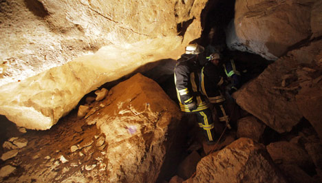 Man freed from cave after nine-hour ordeal