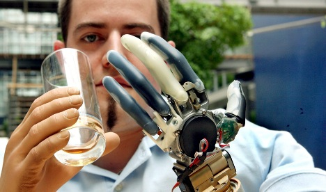 Driver gets German thought-powered prosthetics