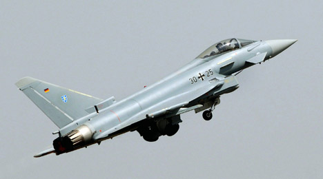 German fighter jet intercepts Russians in Baltic airspace
