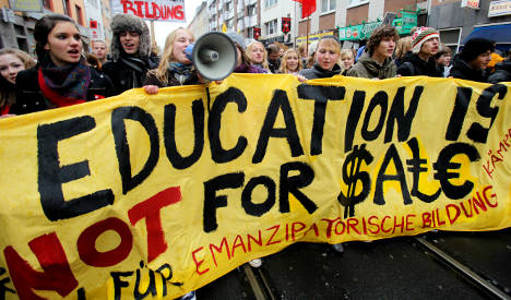 Students stage education protests nationwide