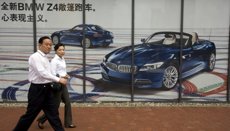 BMW and Audi report October sales spike in China
