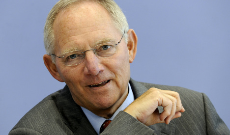 Schäuble rules out tax reform before 2013