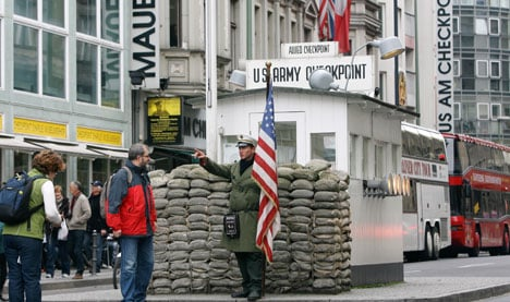Berlin's Checkpoint Charlie gets McDonald's