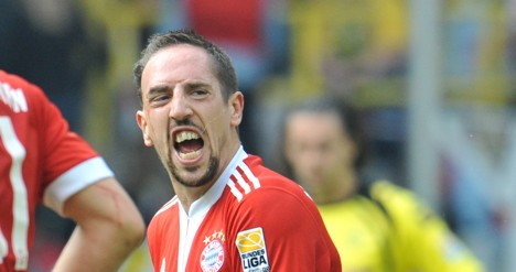 Ribery on his way to Madrid next summer