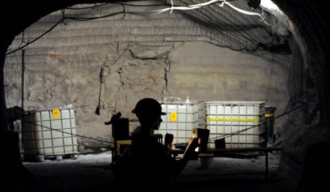 Study finds no dangerous radiation around nuclear Asse dump