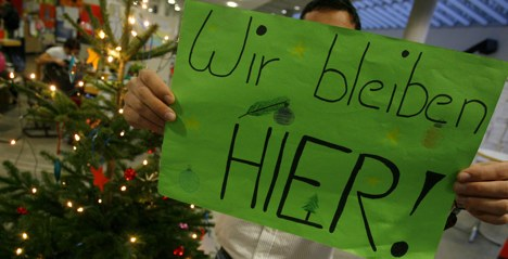 Student sit-ins continue through Christmas