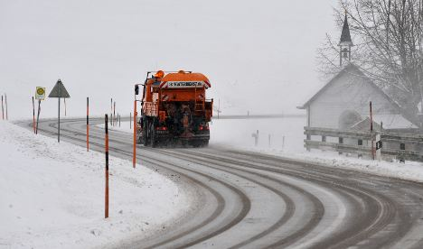 Snow and ice freeze traffic