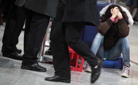 Airport chaos continues in Frankfurt