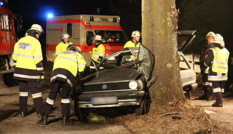 Lower Saxony drivers at highest risk for tree collisions