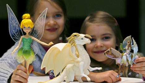 Federal institute warns of toxins in toys
