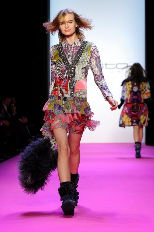 'Custo Barcelona' at the Mercedes-Benz Fashion Week in Berlin on January 21, 2010Photo: DPA