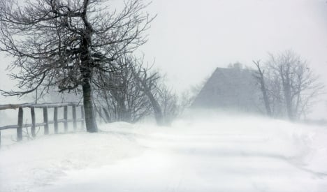 Winter storm on the way