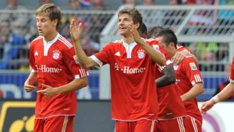 Bayern Munich extends contracts of rising stars