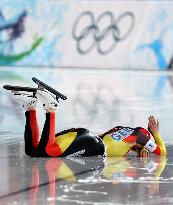 Friesinger-Postma thought her Olympic dream was over.Photo: DPA