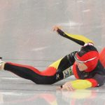 Germany's women speed skaters take gold - just