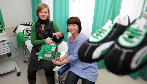 Hannover 96 offers football fans birthing room for born supporters