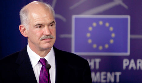 Greece's Papandreou says WWII reparations issue still open