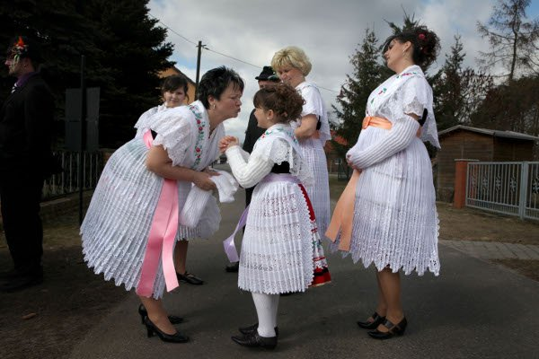 The procession is part of Sorbian efforts to preserve their distinct heritage.Photo: Penny Bradfield