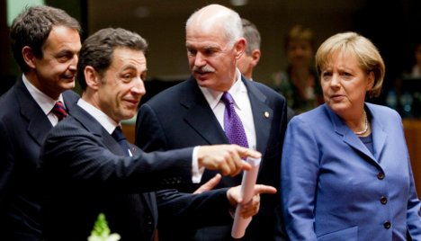 Germany, France unite on IMF rescue for Greece