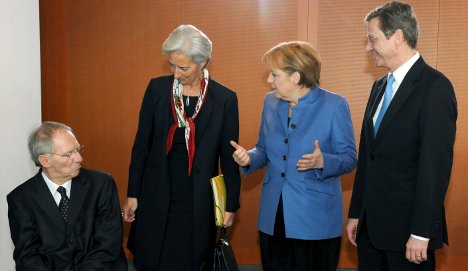 Germany backs bank tax for financial crisis fund