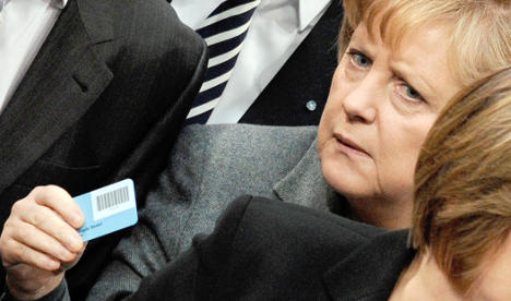 Germany adopts budget with record debt