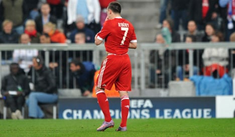 Ribery banned from Champions League final