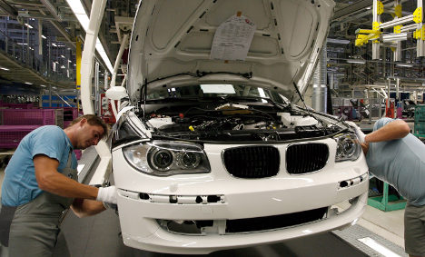 Volcanic ash fallout halts work at BMW factories