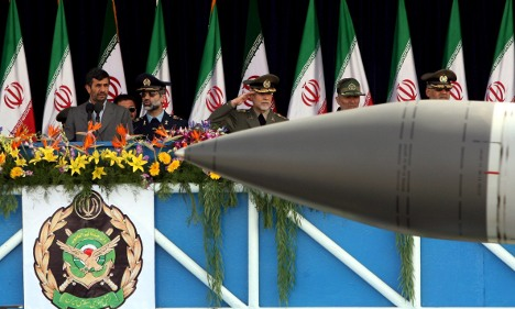 Two men charged for Iran missile parts exports