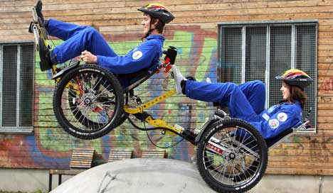 Germany triumphs in NASA's 'Great Moonbuggy Race'