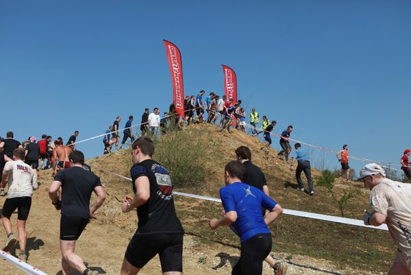 The run consisted of two laps of the 9 km course, with 27 hazards.Photo: Penny Bradfield