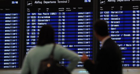 Flight ban now stretched to early Tuesday