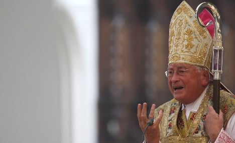 Mixa asks for forgiveness as Church begins abuse inquiry